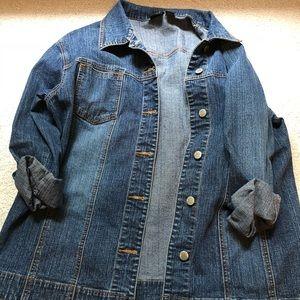 Chico's Medium Wash Jean Jacket